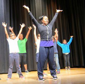 Raissa Simpson, Choreographer and Dance Instructor